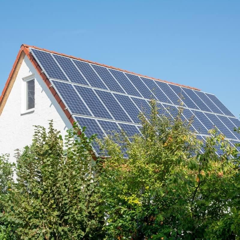 Solceller på marken